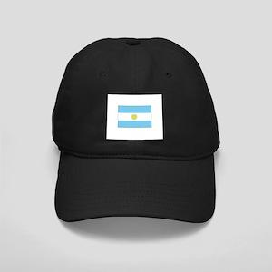 Argentina Flag Black Cap