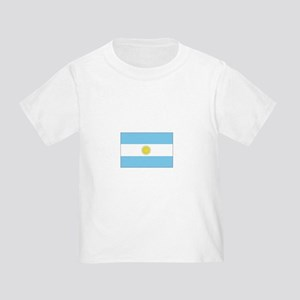 Argentina Flag Toddler T-Shirt