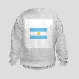 Argentina Flag Kids Sweatshirt
