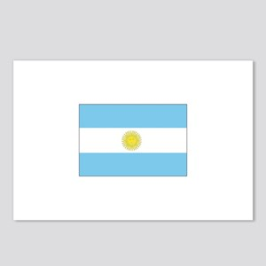 Argentina Flag Postcards (Package of 8)