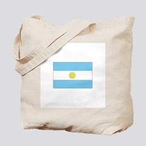 Argentina Flag Tote Bag