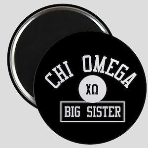 Chi Omega Big Sister Athletic Magnet