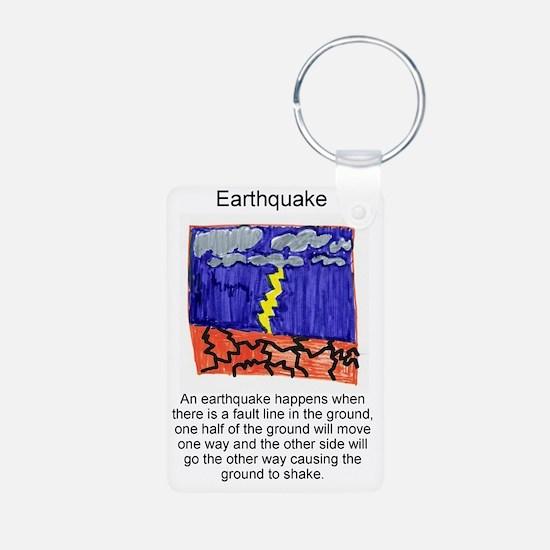 Earthquake Keychains