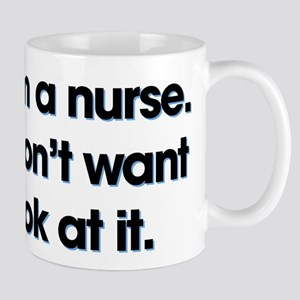 Yes I'm A Nurse 11 oz Ceramic Mug