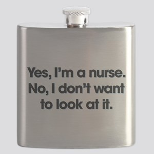 Yes I'm A Nurse Flask