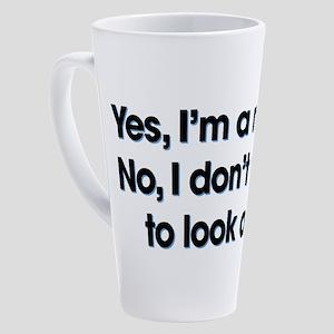 Yes I'm A Nurse 17 oz Latte Mug
