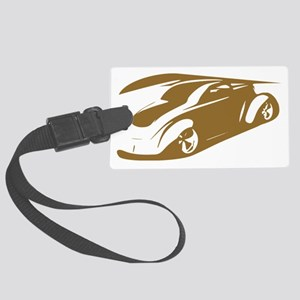 hot rod delight Large Luggage Tag
