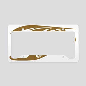 hot rod delight License Plate Holder