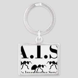 Ants Investigative Services Landscape Keychain