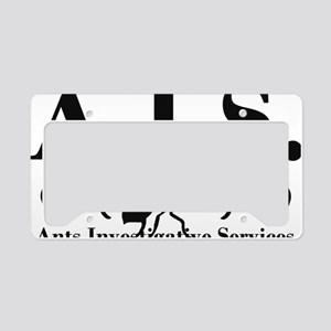 Ants Investigative Services License Plate Holder