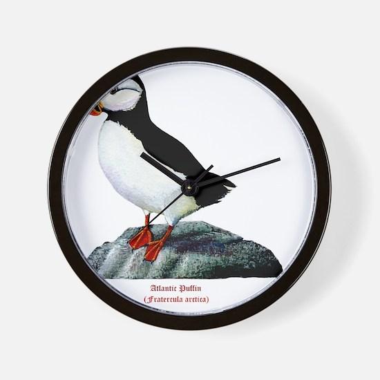 Atlantic Puffin Wall Clock