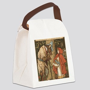 LITTLE RED RIDING HOOD Walter_Cra Canvas Lunch Bag