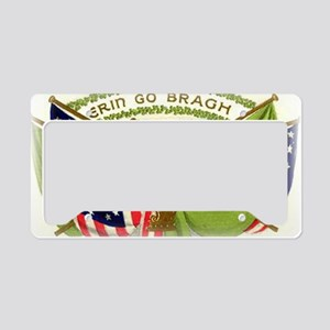 Erin Go Bragh Irish Flags License Plate Holder