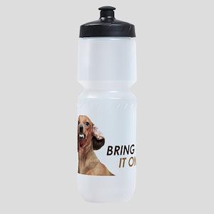 Bring It On Dachshund Sports Bottle