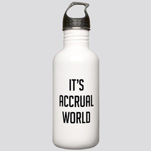 It's Accrual World Stainless Water Bottle 1.0L