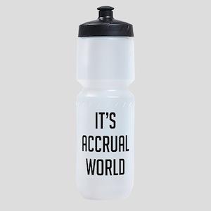 It's Accrual World Sports Bottle