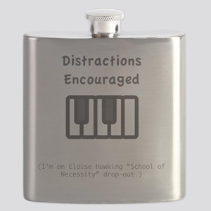 distractions encouraged Flask
