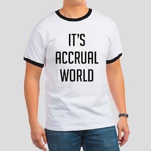 It's Accrual World Ringer T