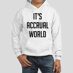 It's Accrual World Hooded Sweatshirt