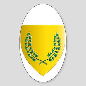 SCA W Sticker (Oval)