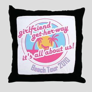 ghw_beach-2010 Throw Pillow