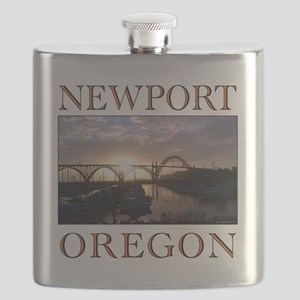newport oregon Flask