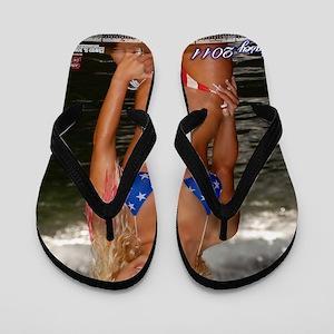 b031260831ae Bikini Girls Flip Flops - CafePress