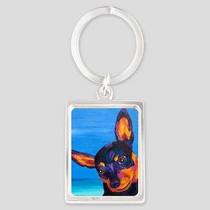 2-PB170481 Portrait Keychain