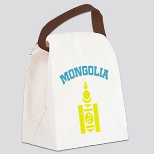 mongoliaEN Canvas Lunch Bag