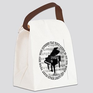 Music Tshirt2 Canvas Lunch Bag