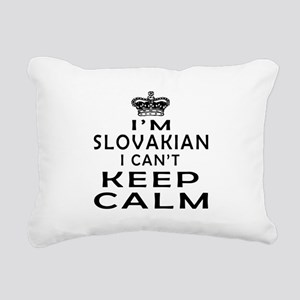 I Am Slovakian I Can Not Keep Calm Rectangular Can