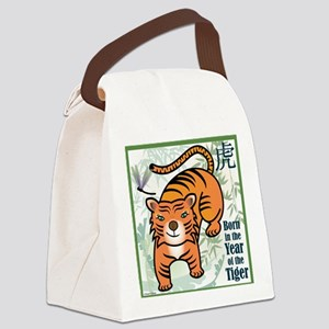 TigerTshirt Canvas Lunch Bag