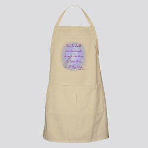 For He Shall Give his Angels Charge over The Apron
