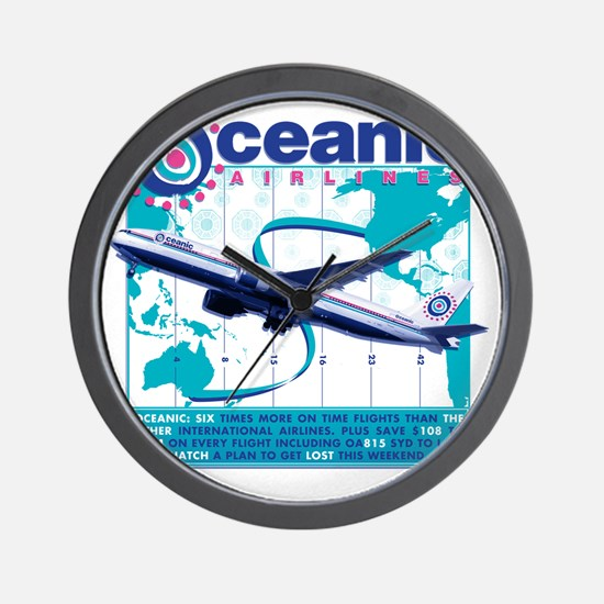 oceaniccontest Wall Clock