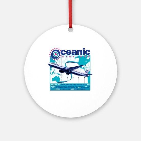oceaniccontest Round Ornament