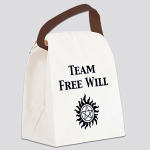 Front-Team Free Will Canvas Lunch Bag