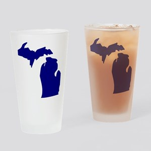 us_michigan Drinking Glass