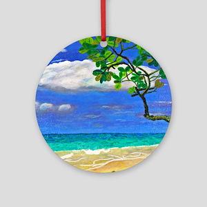 Seagrapes Round Ornament