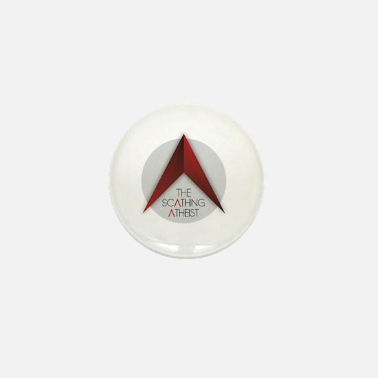 Scathing Atheist Logo Mini Button