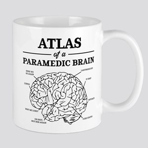 Atlas of a Paramedic Brain 11 oz Ceramic Mug