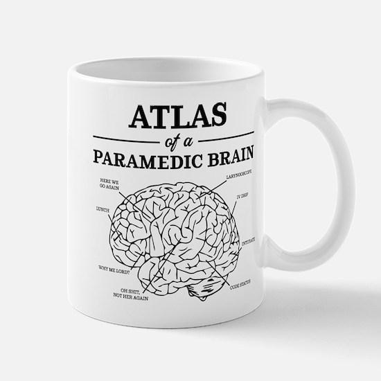 Atlas of a Paramedic Brain Mug