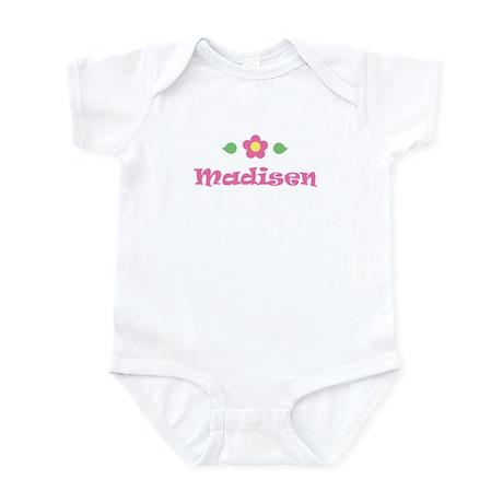 "Pink Daisy - ""Madisen"" Infant Bodysuit"