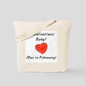 Valentines baby Tote Bag