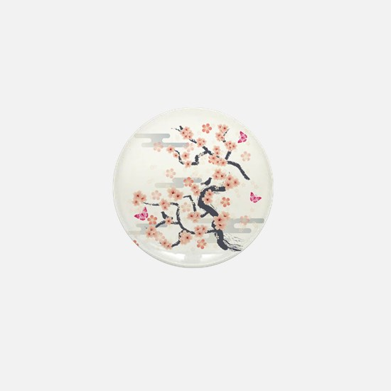 JAPANESE Blossom Mini Button