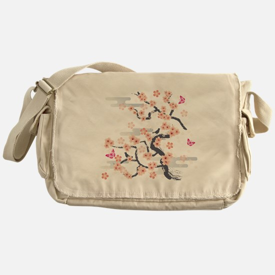 JAPANESE Blossom Messenger Bag