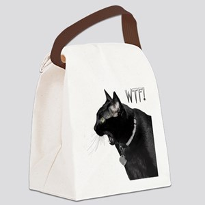 WTFgraphic Canvas Lunch Bag