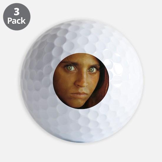 AfganGirl Golf Ball