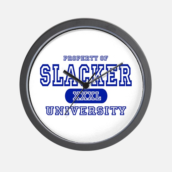 Slacker University Wall Clock