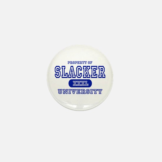 Slacker University Mini Button