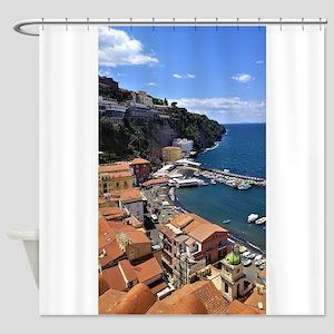 Marina Grande, Sorrento, Italy Shower Curtain